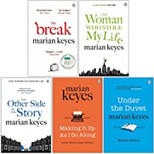 Marian Keyes Collection 5 Books Set (The Break, The Woman Who Stole My Life, The Other Side of the Story, Making It Up As ...