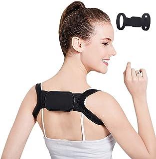 Aaiffey Posture Corrector for Women Men & Children,Adjustable Invisible Back Corrector Brace Shoulder Spinal Clavicle Support Women Upper Back Brace