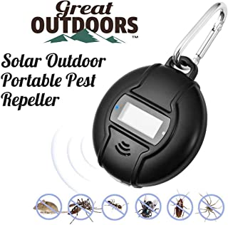 GREAT OUTDOORS Ultrasonic Pest Repeller, ECO-Friendly Electronic Pest Control Plug in, Outdoor and Indoor Pest Defender, Pest Reject for Mosquito, Rodent, Anti, Cockroach, Mosquito, Bug