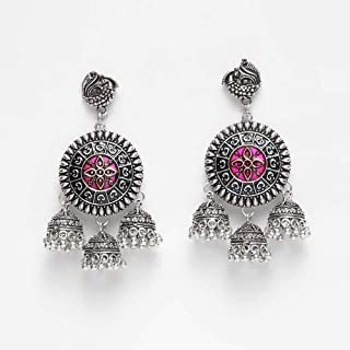 a72aa9c8b Jhumki Women's Earrings: Buy Jhumki Women's Earrings online at best ...