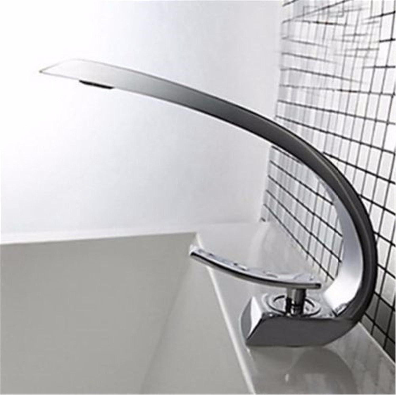 Maifeini Modernes Waschbecken Design Badezimmer Wasserhahn Armatur Wasserfall, Heier Und Kalter Dusche Waschbecken, Badezimmer Deck