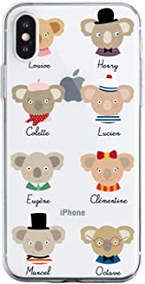 Oihxse Compatible with iPhone 5/5S/SE Case Cute Koala Cartoon Clear Pattern Design Transparent Flexible TPU Anti-Scratch S...