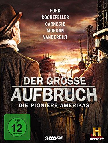 Der große Aufbruch - Die Pioniere Amerikas [3 DVDs]