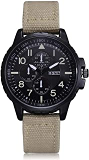 Watches for Men Mens Watches Chronograph Casual Business Atmospheric Dial Black Blue Beige Wrist Watch Fashion Leather Watches for Men Fashion Casual Wrist Watches