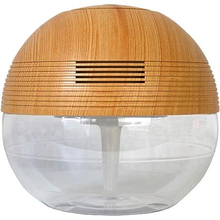 空気洗浄機 Reevo ナチュラルブラウン アロマ ライト ソリューション ボール シャープ マジックボール 空気 ほこり リビング 部屋 間接照明 アロマディフューザー 卓上 在宅 木目 木目調 ディフューザー かわいい オフィス 水