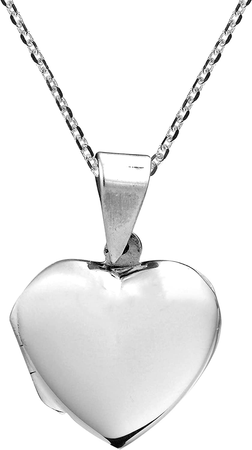 Secret Don't miss the campaign of the Heart Washington Mall .925 Locket Silver Necklace Sterling