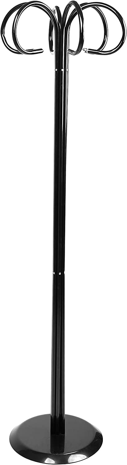 Mind Reader MEDUSACR-BLK Coat Rack, Black