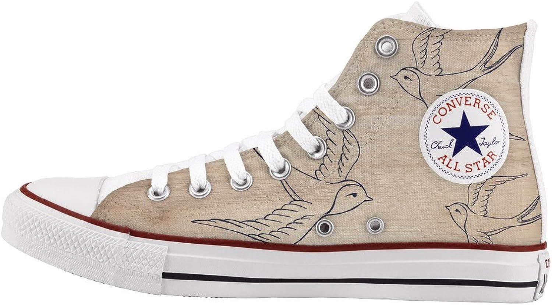 Converse All Star Personnalisé et imprimés - Chaussures à la Main - - Tattoo