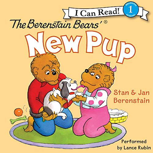 The Berenstain Bears' New Pup cover art