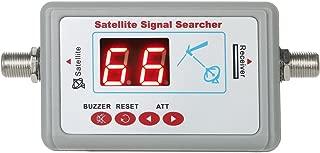 Signal Detector, KKmoon Digital Satellite Signal Finder Meter Mini Satellite Finder with Buzzer