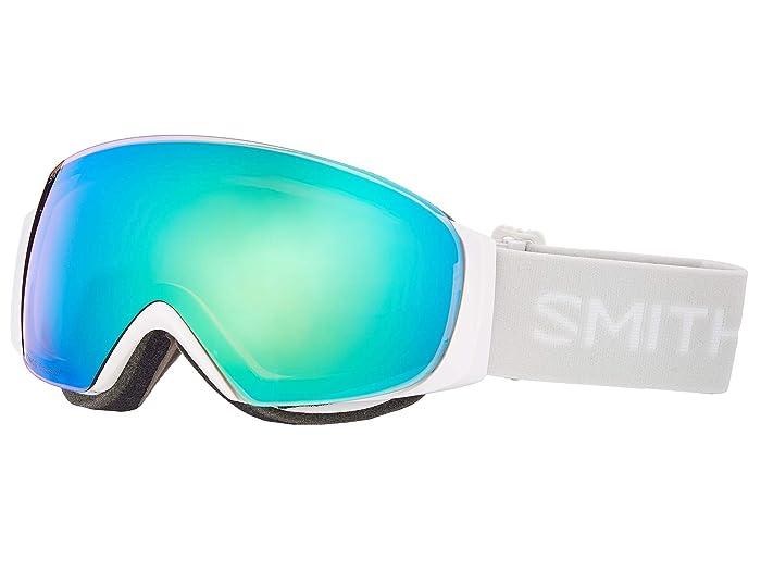I/O Mag S  Shoes (White Vapor/Chromapop Everyday Green Mirror/Chromapop Storm Yell) Goggles