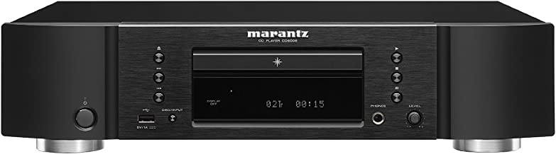 Marantz CD6006 Premium Audio Sound Through a CD Player and iDevices (iPhone and iPod) | Newly Developed Headphone Amp and ...