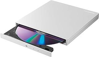 I-O DATA 外付け DVDドライブ 薄型 ポータブル USB3.2 Gen1 (USB3.0) 国内メーカー バスパワー Win Mac EX-DVD04W