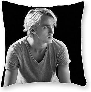 Cuscino per cuscino Pop Art in tela per letto singolo solo fodera 40 x 40 cm Tom Felton senza imbottitura