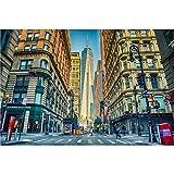 Rompecabezas Manhattan New York Ciudad De Nueva York Alivio De Estrés Adult Rompecabezas Decorativo Juguetes 500/1000/2000/3000/4000/5000 Piezas Desafiantes Y Familiares 0223