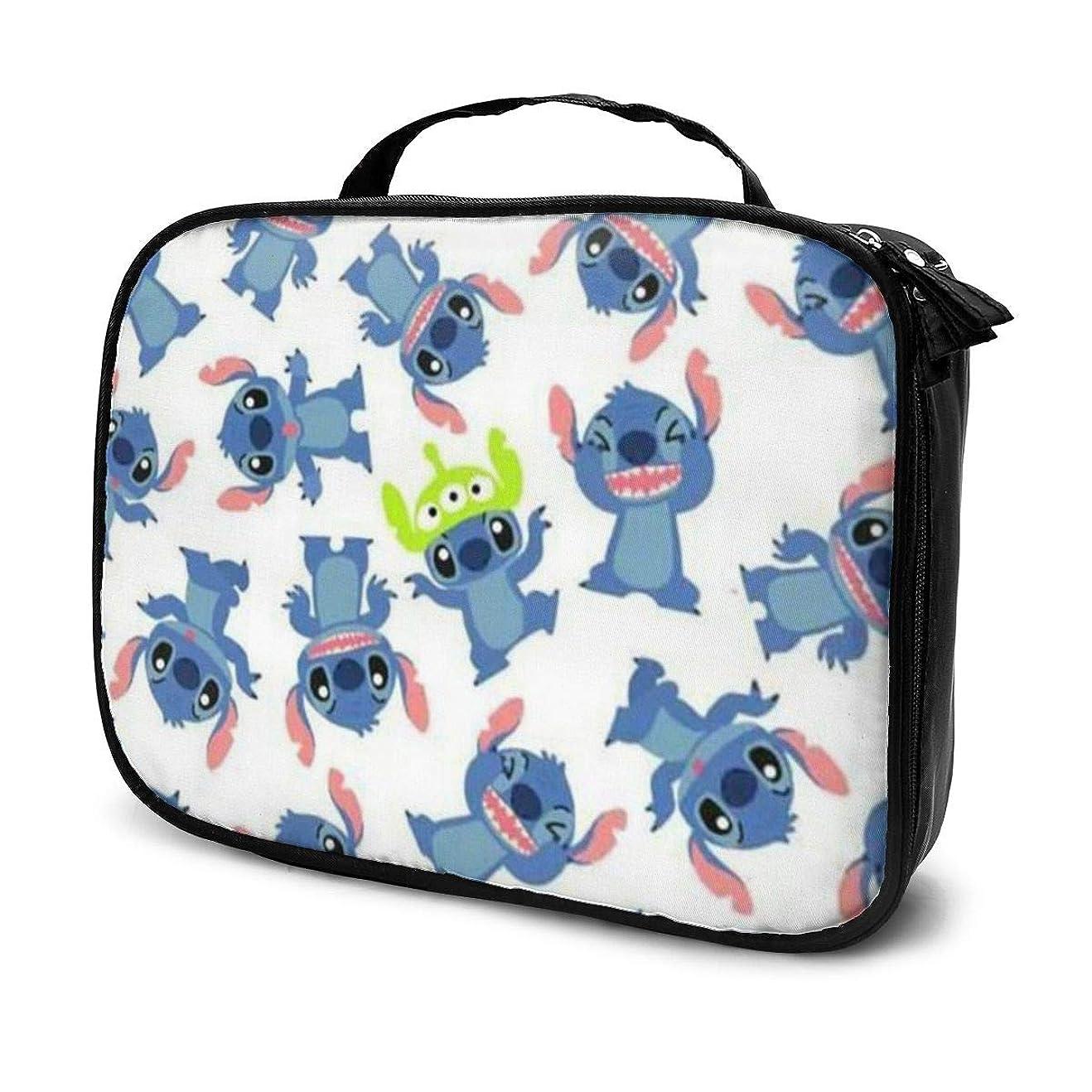 引退するふざけた待つDaituステッチ 化粧品袋の女性旅行バッグ収納大容量防水アクセサリー旅行