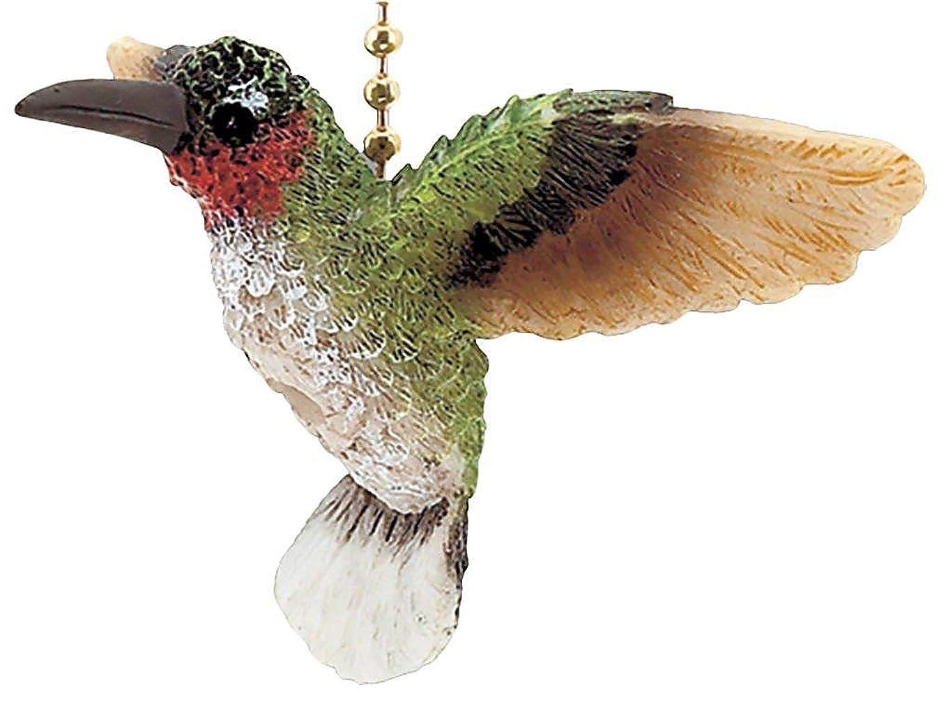 Clementine Designs Garden Hummingbird Bird Porch Deck Ceiling Fan or Light Pull Three Dimensional