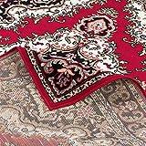 Orient Teppich Trendline Rot Keshan in 5 Größen - 5