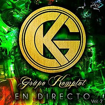 En Directo, Vol. 2 - EP