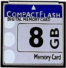 LILIWELL HuaDaWei 8GB CompactFlash Memory Card High Speed 133X for Nikon D70 Digital Camera Card 8GB Industrial-Grade Card