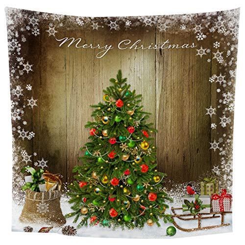 Tapiz De Poliéster De Impresión 3D, Tapiz De Impresión Digital De La Serie De Navidad, Toalla De Playa De Tapiz De Decoración del Hogar De Navidad