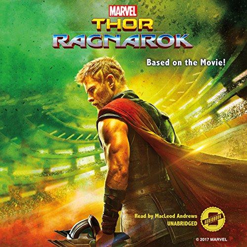 Marvel's Thor: Ragnarok audiobook cover art