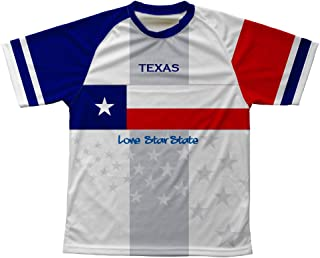 ScudoPro Texas Flag Technical T-Shirt for Men and Women