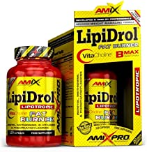 Amix LipiDrol fat burner for healthy weight loss with VitaCholine and others complex as Inositol Methionine Phosphatidylserine Vitamins 120 capsules Estimated Price : £ 20,99