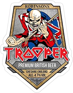 Hik kal Shop The Trooper Beer Stickers (3 Pcs/Pack)