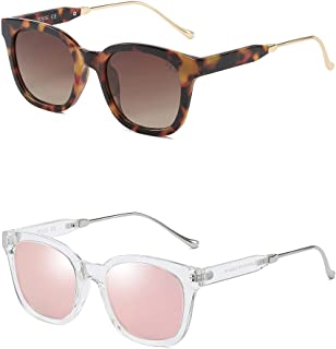 نظارات شمسية من سوجوس باطار اسود SJ2050
