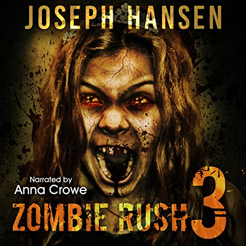 Zombie Rush 3 audiobook cover art