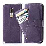 Asuwish Oneplus 6 Wallet Case,Luxury Leather Phone Cases with...