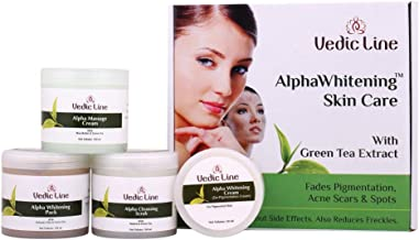 VEDICLINE Alpha whitening Skin Care Facial Kit With Green Tea Extract,350ml
