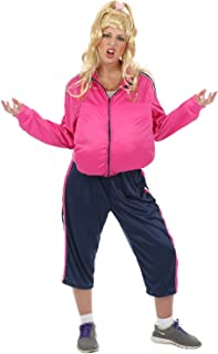 Unisex Little Britain Chav Vicky Pollard 00s TV Fancy Dress Costume Tracksuit