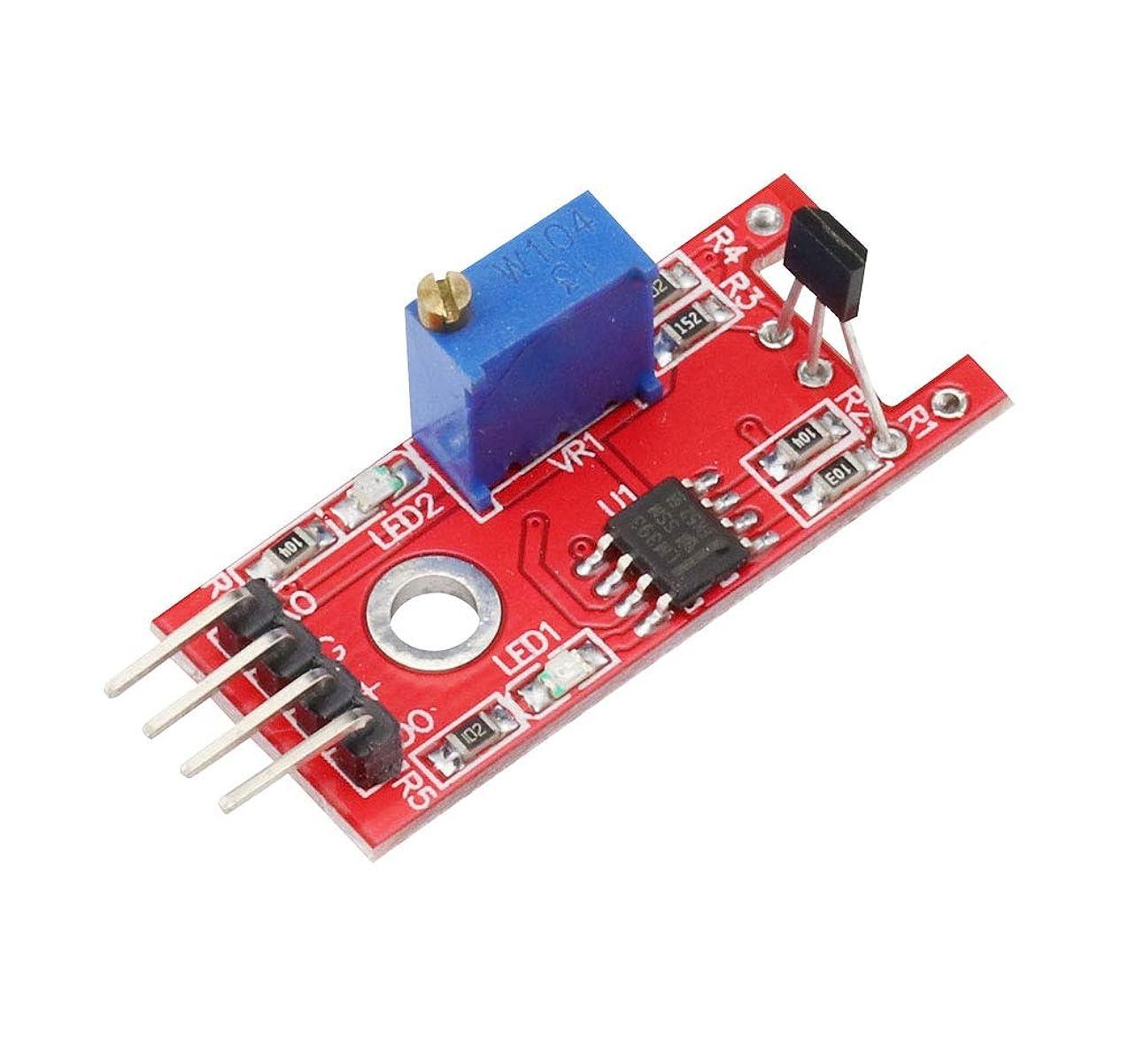隣接中国従事するKKHMF KY-024 磁気リニア ホールセンサ リニア磁気ホールスイッチ Arduinoと互換