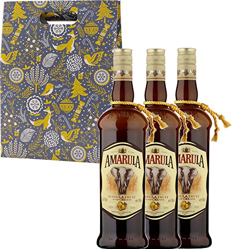Photo of Amarula Cream Liqueur in Xmas Gift Box With Handcrafted Gifts2Drink Tag