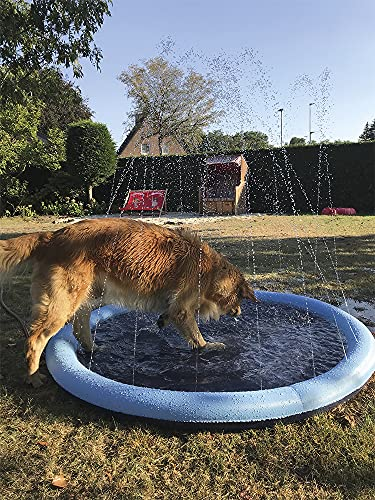 Nobby Hundepool Splash Pool Ø150cm Hunde Swimmingpool Schwimmbecken Anti Rutsch