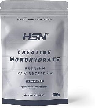 Creatina Monohidrato Micronizada en Polvo de HSN | Aumenta tu Rendimiento Deportivo, tu Energía y tu Masa Muscular, Retrasa la fatiga | Vegano, Sin ...