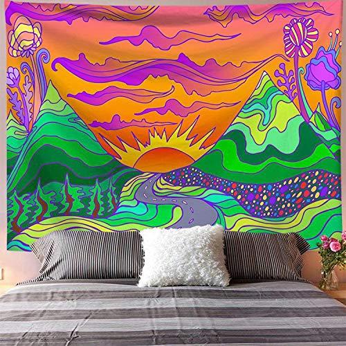 Serie mandala tela colgante impresión digital tapiz del hogar colgante de pared toalla de playa tela de fondo a4 73x95 cm