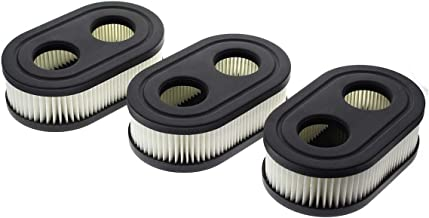 AUTOKAY 593260 798452 Air Filter (Set of 3) Cartridge 798452 550EX for Briggs & Stratton Cartridge Stens 102-851 Oregon 30-168 Rotary 14364 Lawn Mower Air Filter Parts