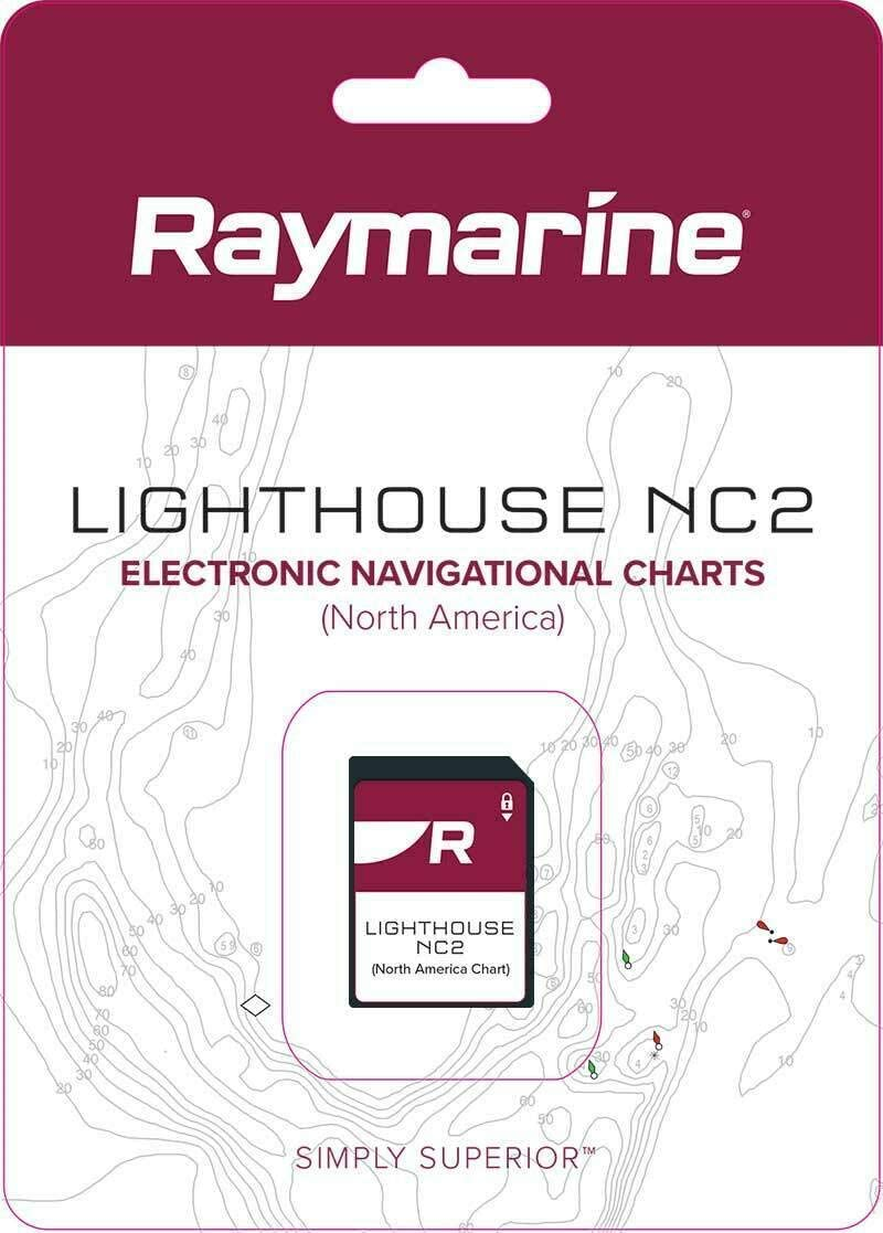 Raymarine 人気ショップが最安値挑戦 Lighthouse NC2 Chart U.S. Stations Coastal オープニング 大放出セール Tide NOAA