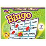 TREND enterprises, Inc. Prefixes & Suffixes Bingo Game