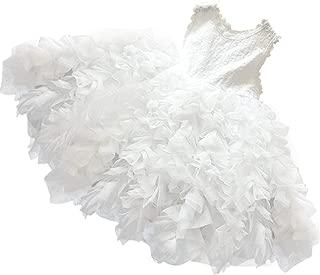 white tulle dress child