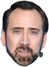 Nicolas Cage (Beard) Celebrity Mask, Card Face and Fancy Dress Mask