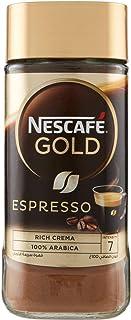 Nescafe Gold Espresso Instant Coffee, Italian Style Rich with Crema, 100 gm