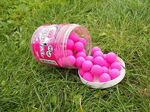 Mainline Hi Visual Pop Ups 15mm Pink Fruit-Tella Pop Up Popups Popups Hakenköder Köder Angelköder