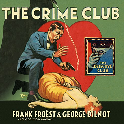 The Crime Club audiobook cover art