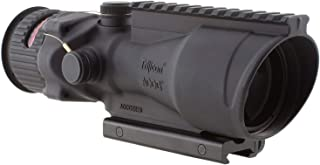 Trijicon ACOG 6 X 48 Scope Dual Illuminated Horseshoe .308 Ballistic Reticle, Red