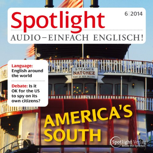 Spotlight Audio - America's south. 6/2014 Titelbild