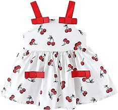 Clacce - Vestido de Princesa para niña, Estampado de corazón